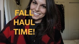 Mega Fall Fashion Haul - thrift, madewell, zara, woolrich and more Thumbnail