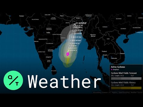 Cyclone Amphan: India Warns Of 'Disastrous Wind,' Urges Residents To Find 'Safe Place'