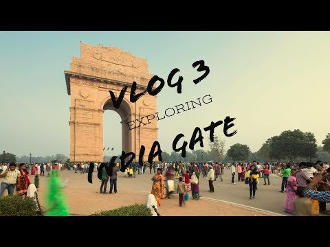 New Delhi India Gate travel vlog3