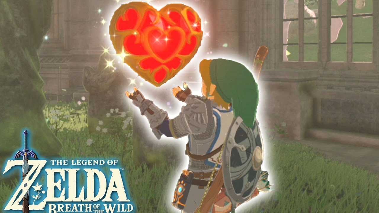 OBJECTIF RÉCEPTACLE DE COEUR ! Zelda Breath Of The Wild FR