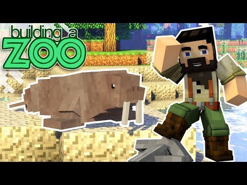 I'm Building A Zoo In Minecraft! - New Animals Seen And Caught! - EP07