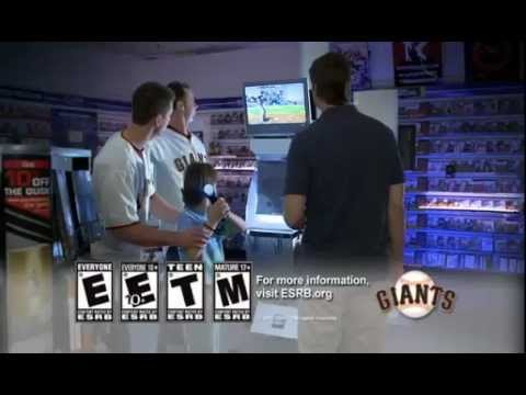 ESRB Game Rating System PSA with the S.F. Giants
