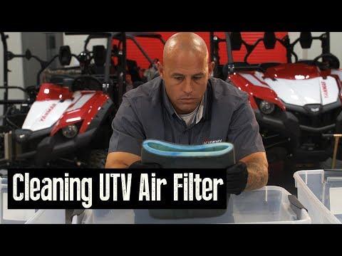 YANMAR//Academy Bull UTV Cleaning the Air Filter