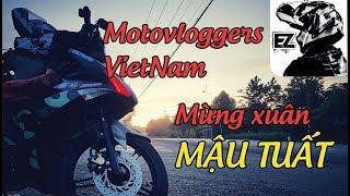 [Motovlog VietNam]Tập thể Motovlogger chúc tết toàn thể viewer và cộng đồng Motovlog VietNam