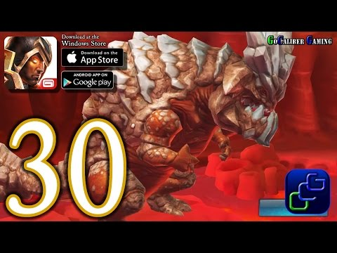 Dungeon Hunter 5 Android IOS Walkthrough - Part 30 - Solo Bounty 31-32 (EASY)