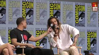 Justice League - panel from Comic-Con San Diego (2017)