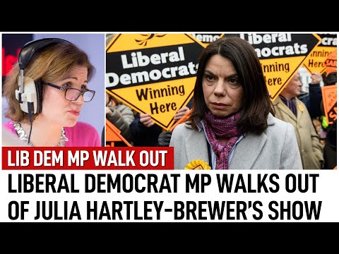 Sarah Olney MP walks off interview with TalkRADIO | Julia Hartley-Brewer