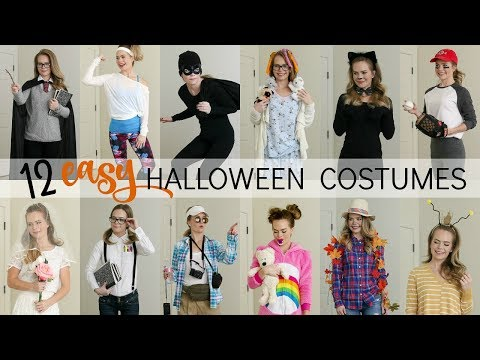 12 Easy Last-Minute Halloween Costumes | Missy Sue