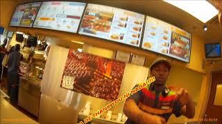 Comprando Hamburguesas En Burger King En Carolina Del Norte