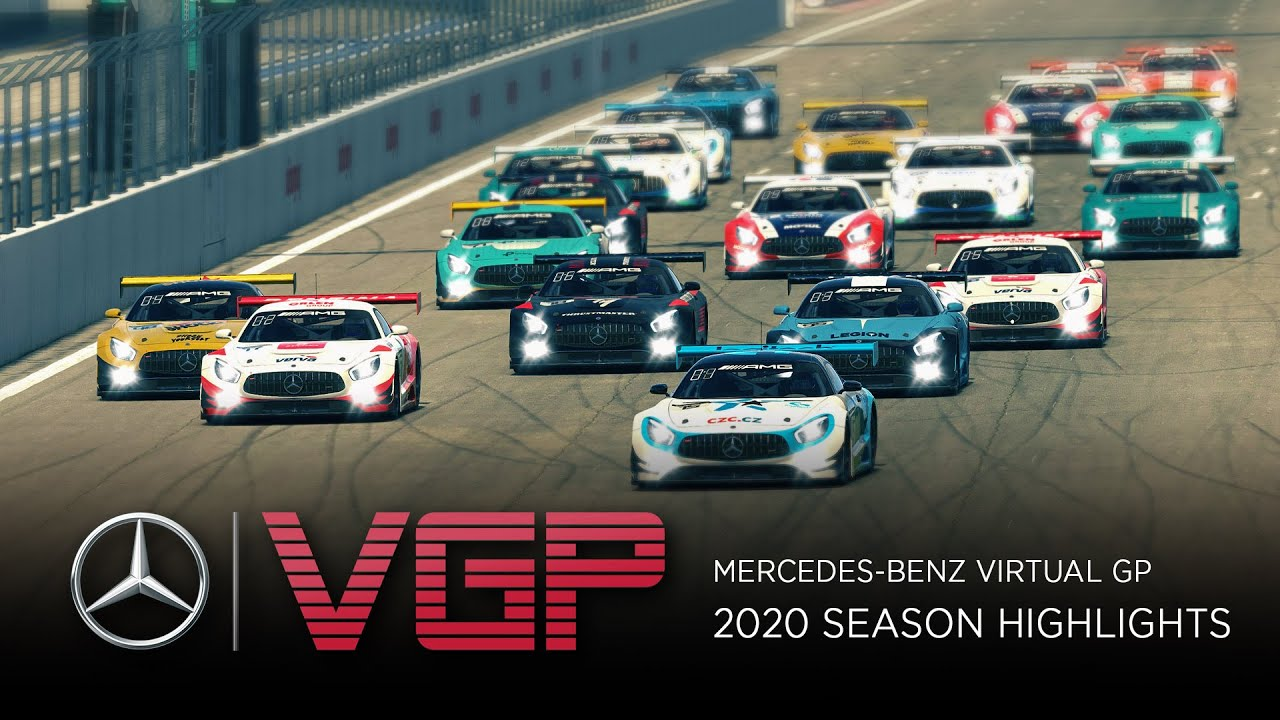 Video: Mercedes-Benz Virtual GP 2020 Season Highlights