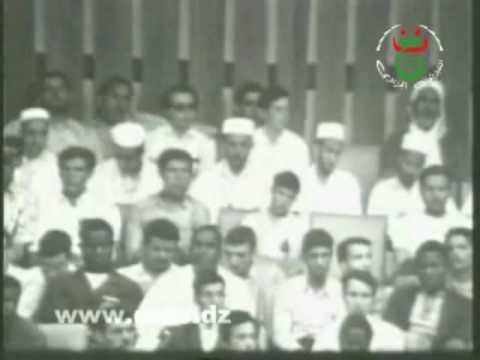 Moufdi Zakaria -   شعب الجزائر مسلم وإلى  العروبة ينتسب