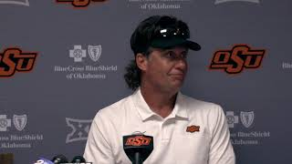 OSU Football: Mike Gundy on win over Tulsa