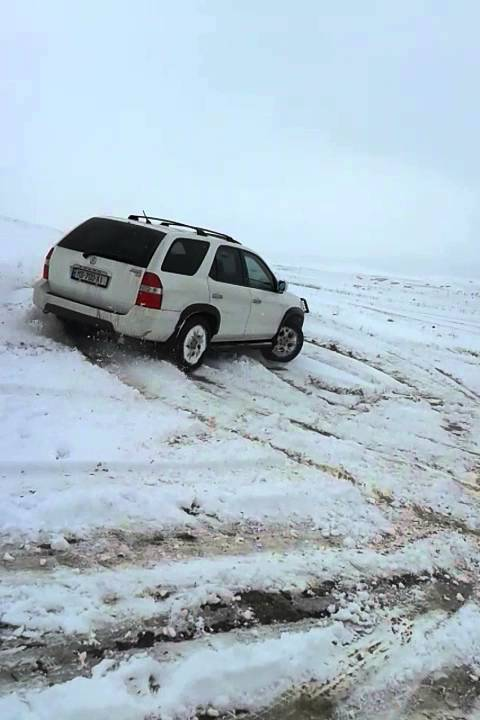 ACURA MDX Snow Without VTM YouTube - 2002 acura mdx tires