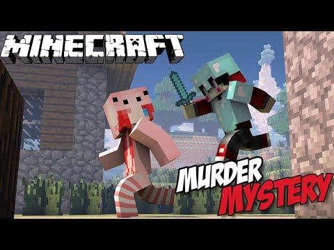 MINECRAFT : Murder Mystery เป็นผู้บริสุทธิ์ตลอดเวย์ Ft. Taejk