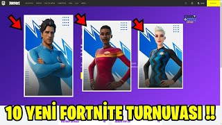 10 NEW FORTNITE TOURNAMENTS COMING !! DO NOT MISS OUT !! (Fortnite Turkish)