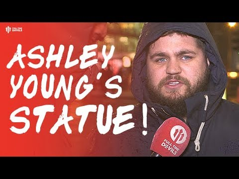 Howson: ASHLEY YOUNG'S STATUE! Manchester United 4-1 Fulham