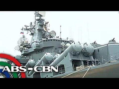 TV Patrol: Russian warship sa Maynila, binuksan sa publiko