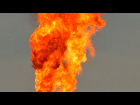Huge Gas Flare!, From YouTubeVideos