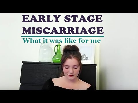 Early Stage Miscarriage - My Experience - YouTube