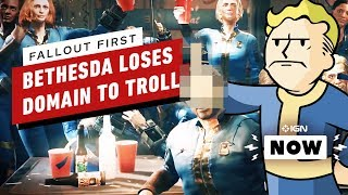 Fallout 76: 'Fallout First' Web Domain Taken Over By Hilarious, Angry Fan - IGN Now
