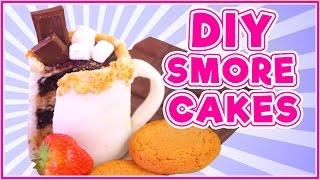 DIY Smores Cake?!