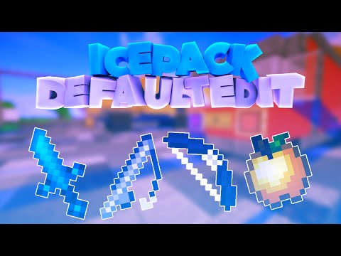 "REVIEW DE MI TEXTURE PACK PVP MINECRAFT | ""iCe Pack Default Edit 16x"""