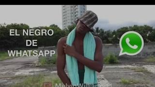 Humor panameño|El negro de Whatsapp|Melvin Williams