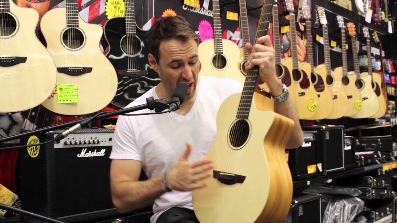 faith guitars naked venus acoustic guitar review jb hi fi youtube. Black Bedroom Furniture Sets. Home Design Ideas