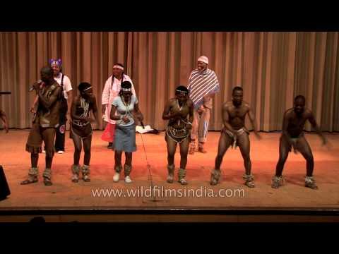 You gotta love this Botswana dance!