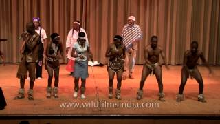 You gotta love this Botswana dance!