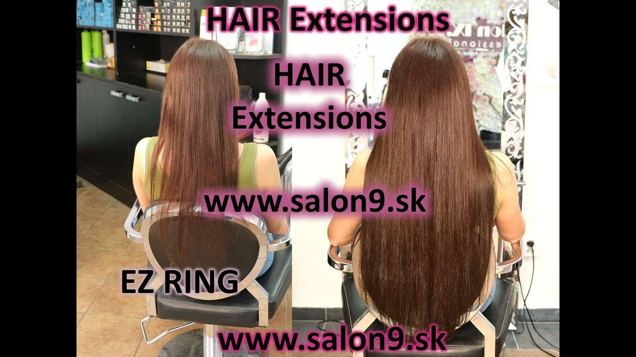 EZ RING metóda predlžovanie vlasov v Salon IX.   EZ HAIR - YouTube 8423746b9a6