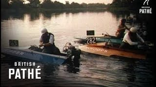 Hydroplane Racing Also In Cp 047 (1955)