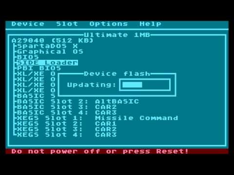 New SIDE loader with CIO disk handler running uFlash