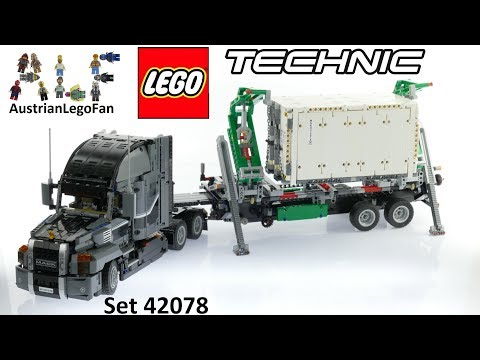 Lego Technic 42078 Mack Anthem - Lego Speed Build Review
