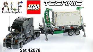 Lego Technic 42078 Mack Anthem - Lego Speed Build Review
