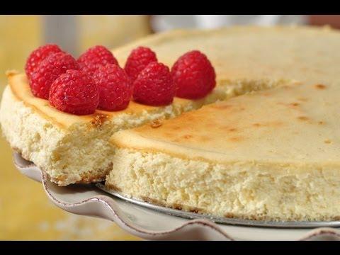Ricotta Cheesecake Recipe Demonstration - Joyofbaking.com