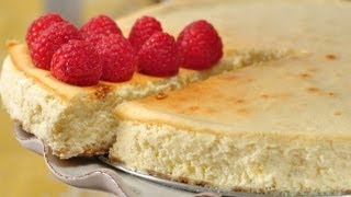 Ricotta Cheesecake Recipe Demonstration - Joyofbaking.com