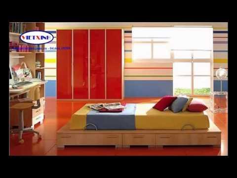 Mê mệt  cách phối màu phòng ngủ cực đẹp  phong ngu dep  Nha dep, Noi that Viet Xinh   YouTube