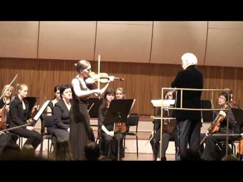 Margarita Krein plays Sarasate's Faust, Pt. 1