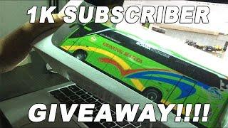 giveaway happy 1k subscriber free 1 miniatur bis yeyy cek deskripsi
