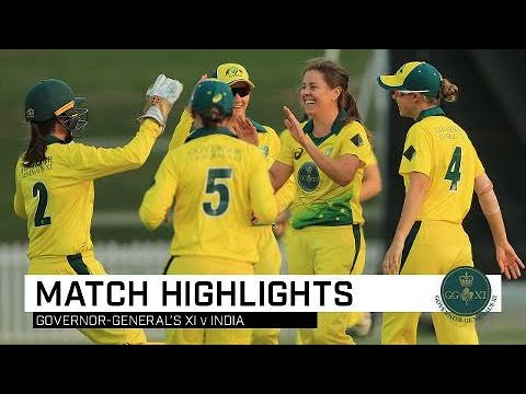 Rising Aussie Talent On Display In Governor-General's XI Win Over India