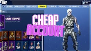 Selling my account CHEAP! (Skull Trooper, 50+ Skins, 30+ Gliders, Stats+)