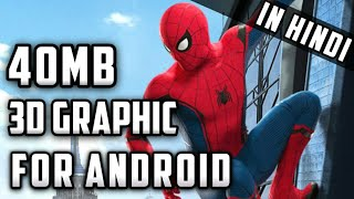 [40mb] Spiderman 3 high graphics On Android ∣ psp Game ∣
