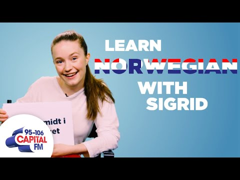 Sigrid Teaches You Norwegian Phrases 🇳🇴  Capital