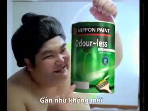 Quảng cáo sơn nippon paint ( sonbenthanh.com )