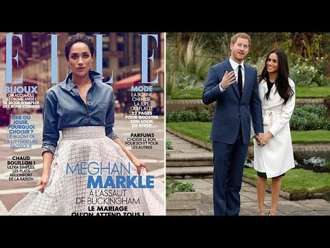 Meghan Markle is the picture of elegance in ELLE France, but have her freckles been airbrushed?