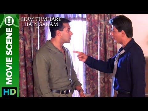 Shahrukh Khan Slaps Salman Khan - Hum...