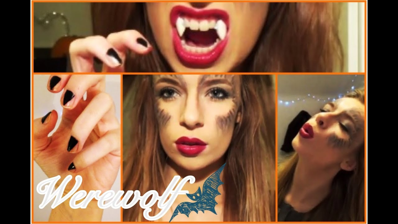 Halloween tutorial werewolf hair makeup nails outfit ideas halloween tutorial werewolf hair makeup nails outfit ideas youtube solutioingenieria Choice Image