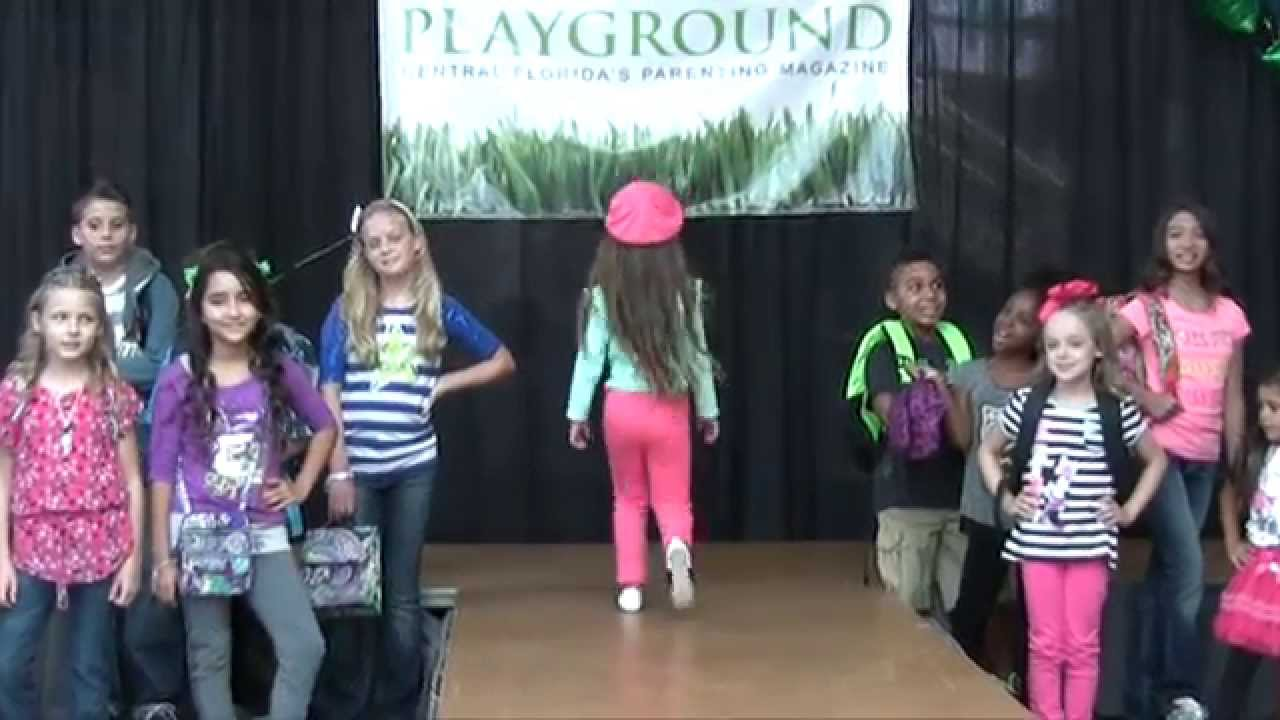 Playground Magazine Back To School Kids Fashion Show Youtube