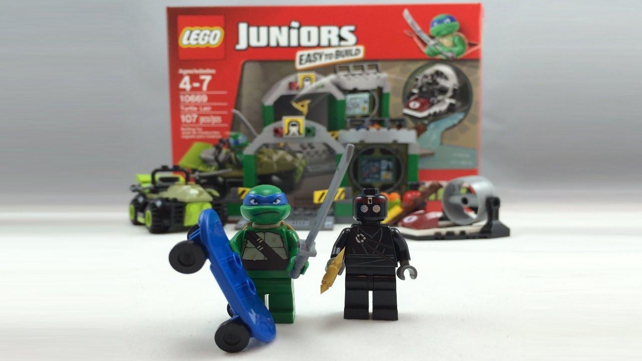 Lego Juniors Teenage Mutant Ninja Turtles Lair Review